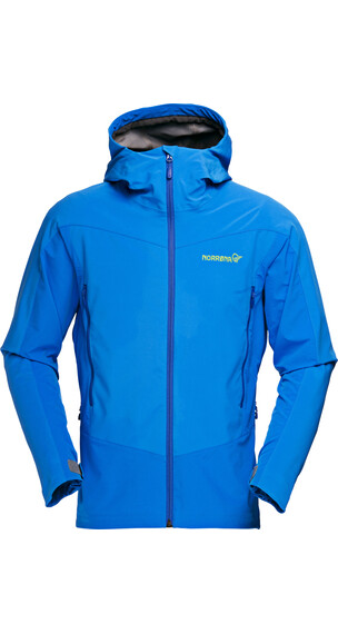 Norrøna falketind Windstopper Hybrid Jacket Men electric blue